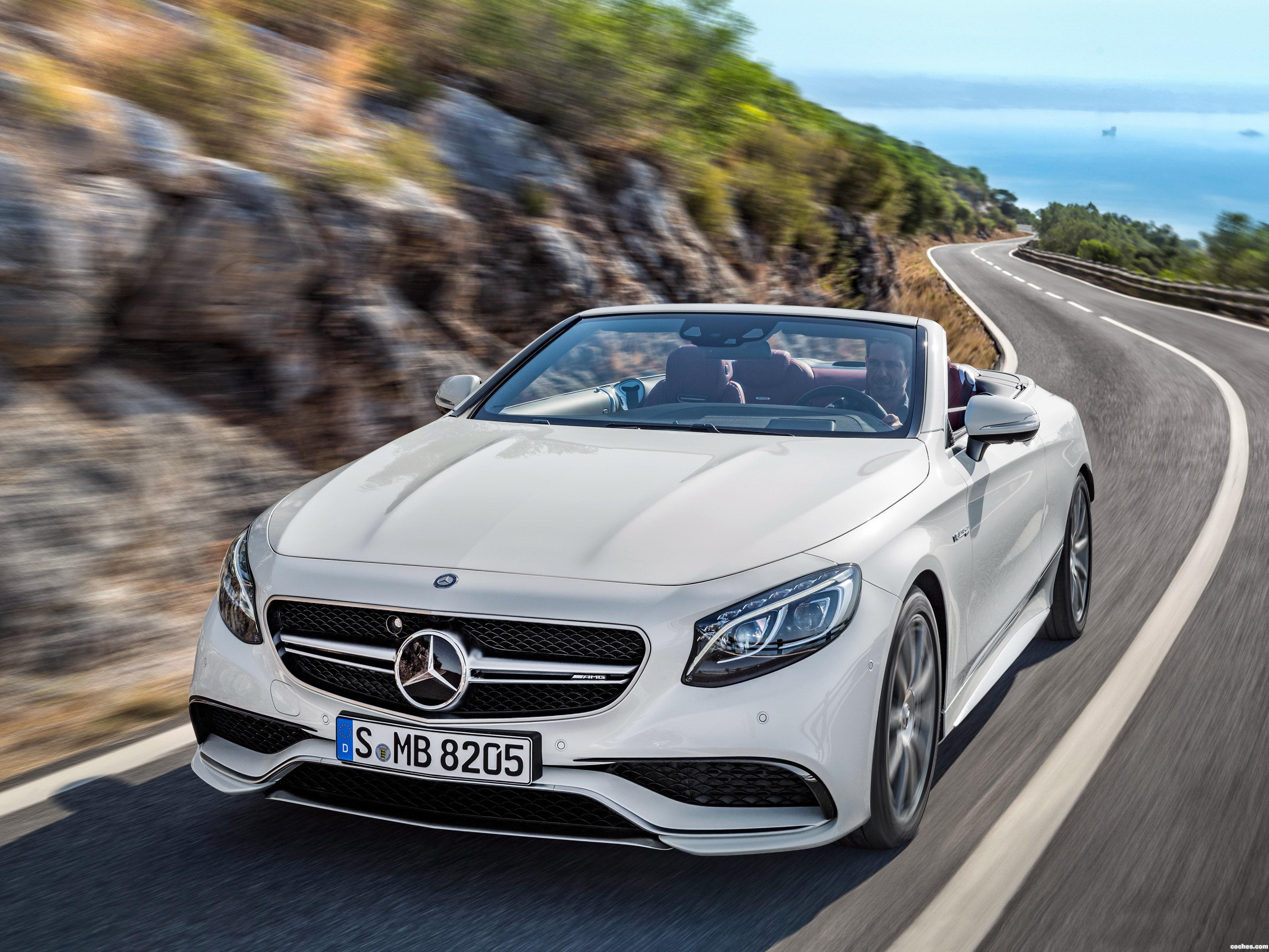 Foto 0 de Mercedes AMG S 63 4MATIC Cabriolet A217 2015