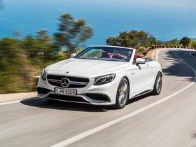Ver foto 5 de Mercedes AMG S 63 4MATIC Cabriolet A217 2015