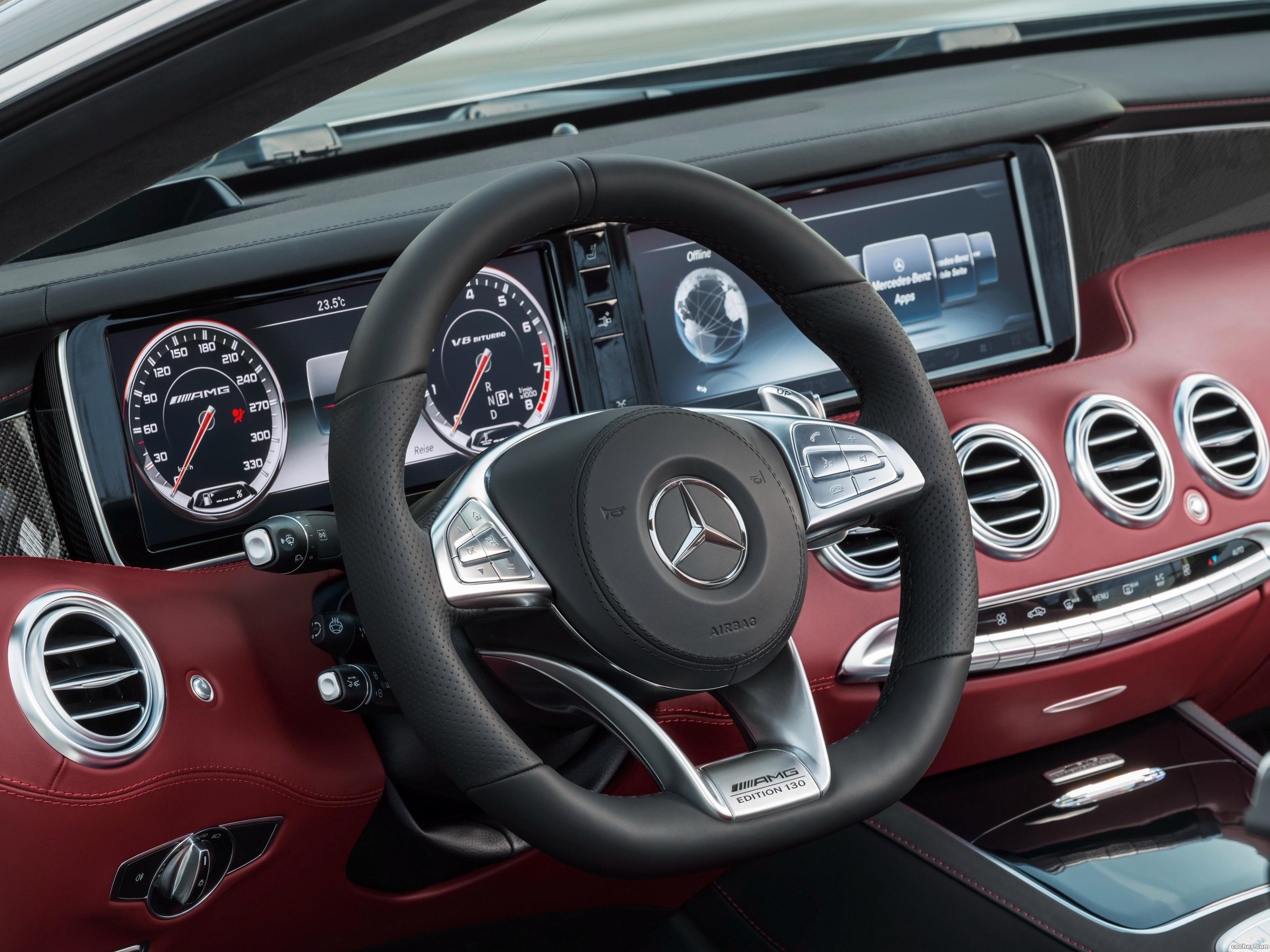 Foto 18 de Mercedes AMG S63 4MATIC Cabriolet Edition 130 A217 2016