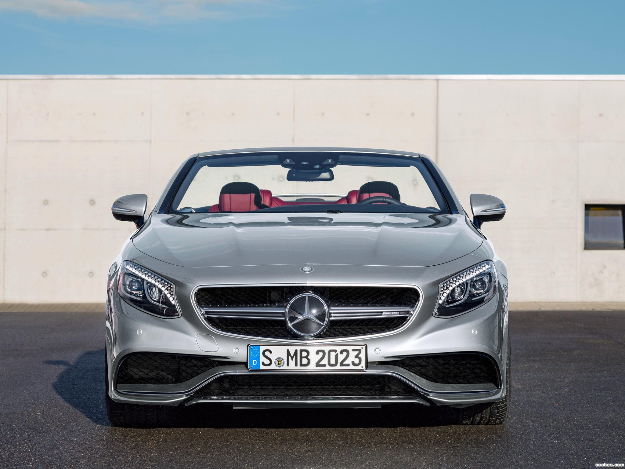 Foto 4 de Mercedes AMG S63 4MATIC Cabriolet Edition 130 A217 2016