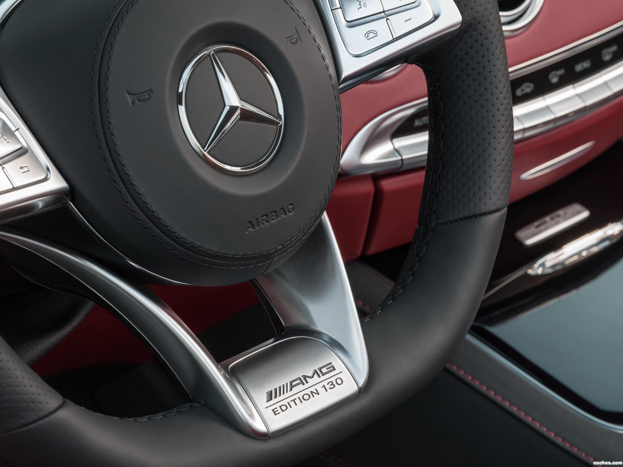 Foto 14 de Mercedes AMG S63 4MATIC Cabriolet Edition 130 A217 2016