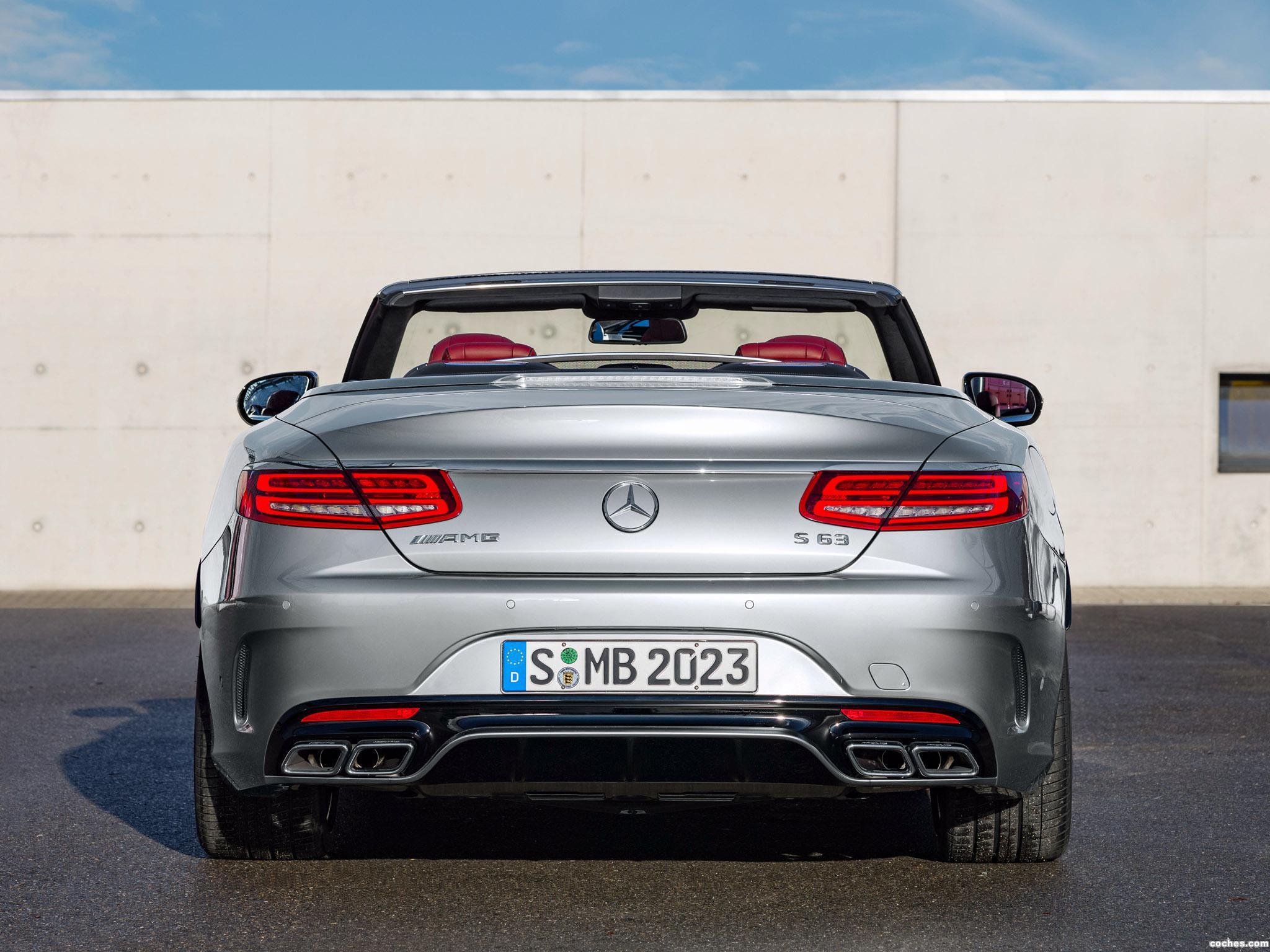 Foto 11 de Mercedes AMG S63 4MATIC Cabriolet Edition 130 A217 2016