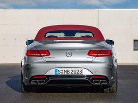 Ver foto 3 de Mercedes AMG S63 4MATIC Cabriolet Edition 130 A217 2016