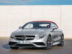Ver foto 2 de Mercedes AMG S63 4MATIC Cabriolet Edition 130 A217 2016