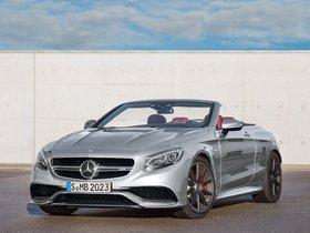 Fotos de Mercedes AMG S63 4MATIC Cabriolet Edition 130 A217 2016