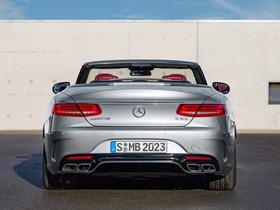 Ver foto 12 de Mercedes AMG S63 4MATIC Cabriolet Edition 130 A217 2016