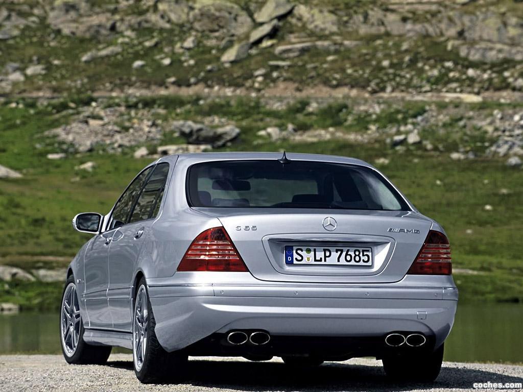 Foto 5 de Mercedes Clase S65 AMG W220 2003