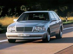 Fotos de Mercedes Clase S AMG W140 1996