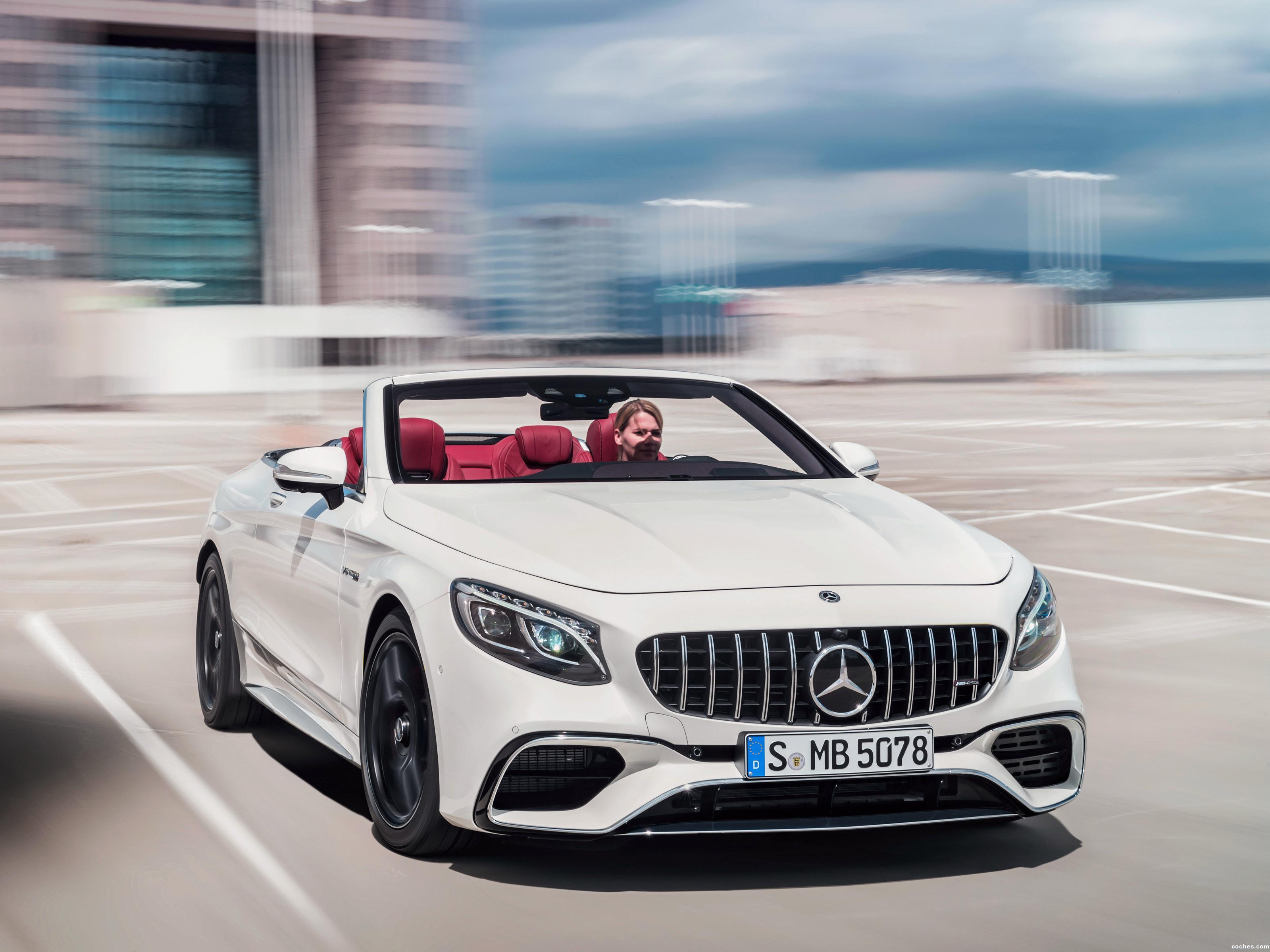 Foto 0 de Mercedes AMG S 63 4MATIC Cabriolet A217 2017