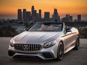 Ver foto 2 de Mercedes AMG S 63 4MATIC Cabriolet A217 USA 2018