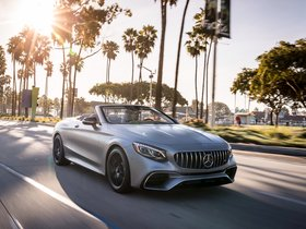 Fotos de Mercedes AMG S 63 4MATIC Cabriolet A217 USA 2018