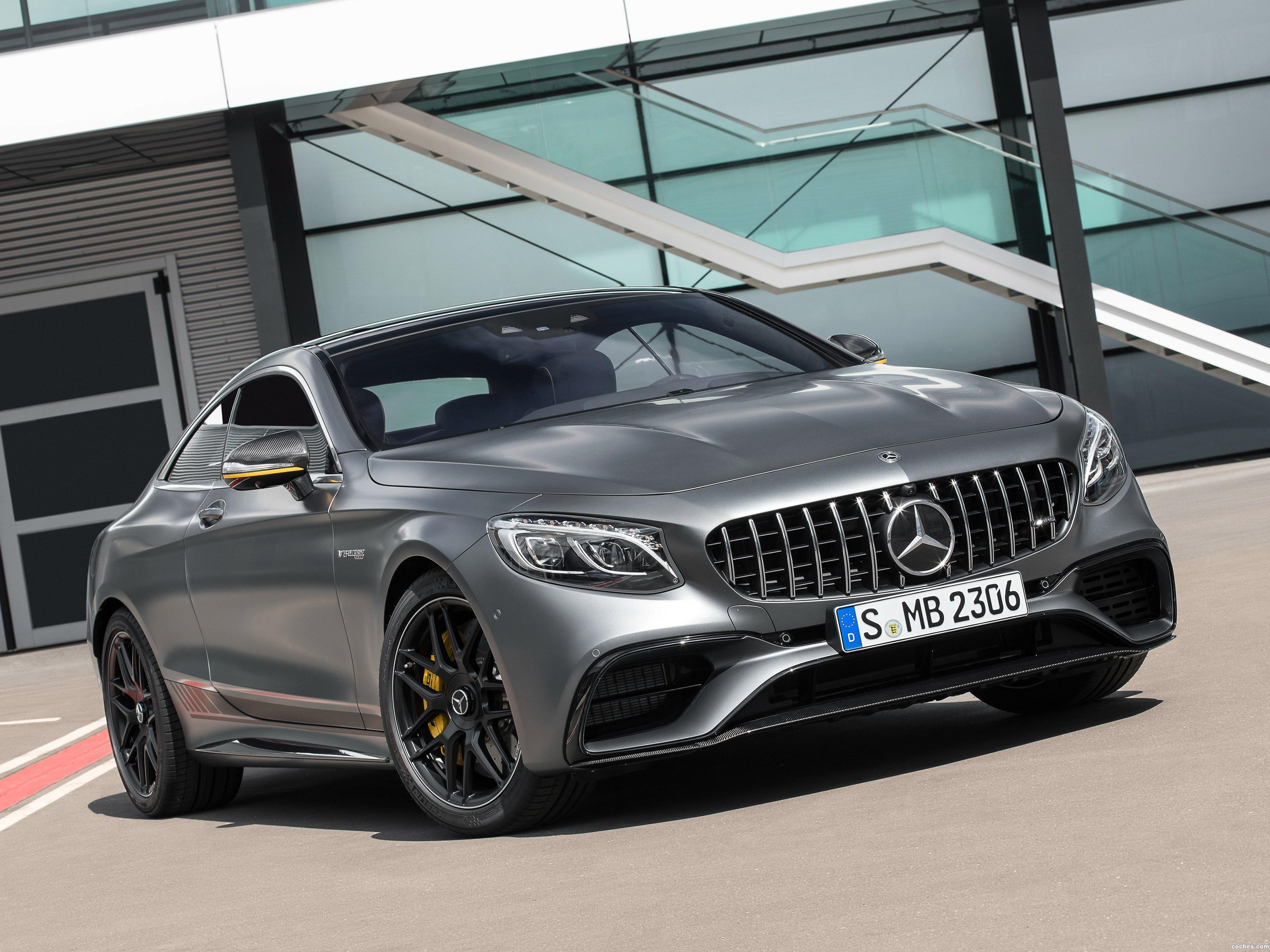 Foto 0 de Mercedes AMG S 63 4MATIC Coupe Yellow Night Edition C217 2017