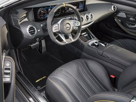 Ver foto 8 de Mercedes AMG S 63 4MATIC Coupe Yellow Night Edition C217 2017