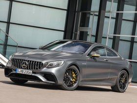 Ver foto 2 de Mercedes AMG S 63 4MATIC Coupe Yellow Night Edition C217 2017