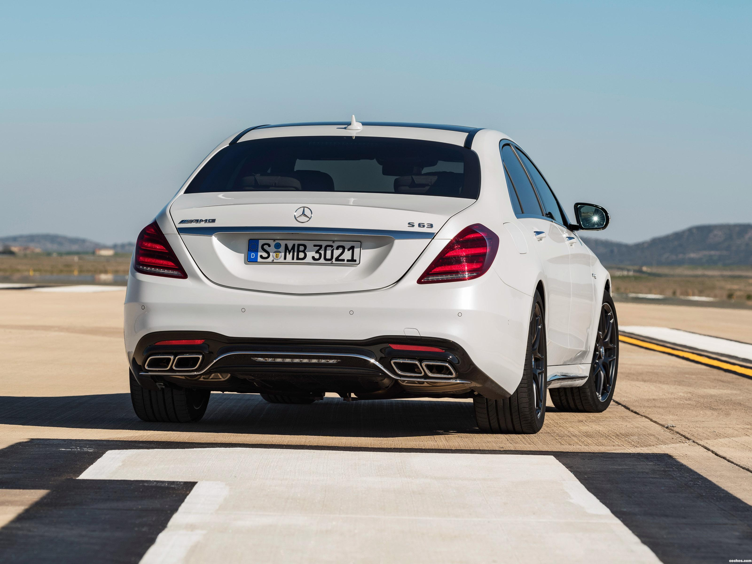 Foto 23 de Mercedes AMG S 63 4MATIC Plus Lang V222 2017