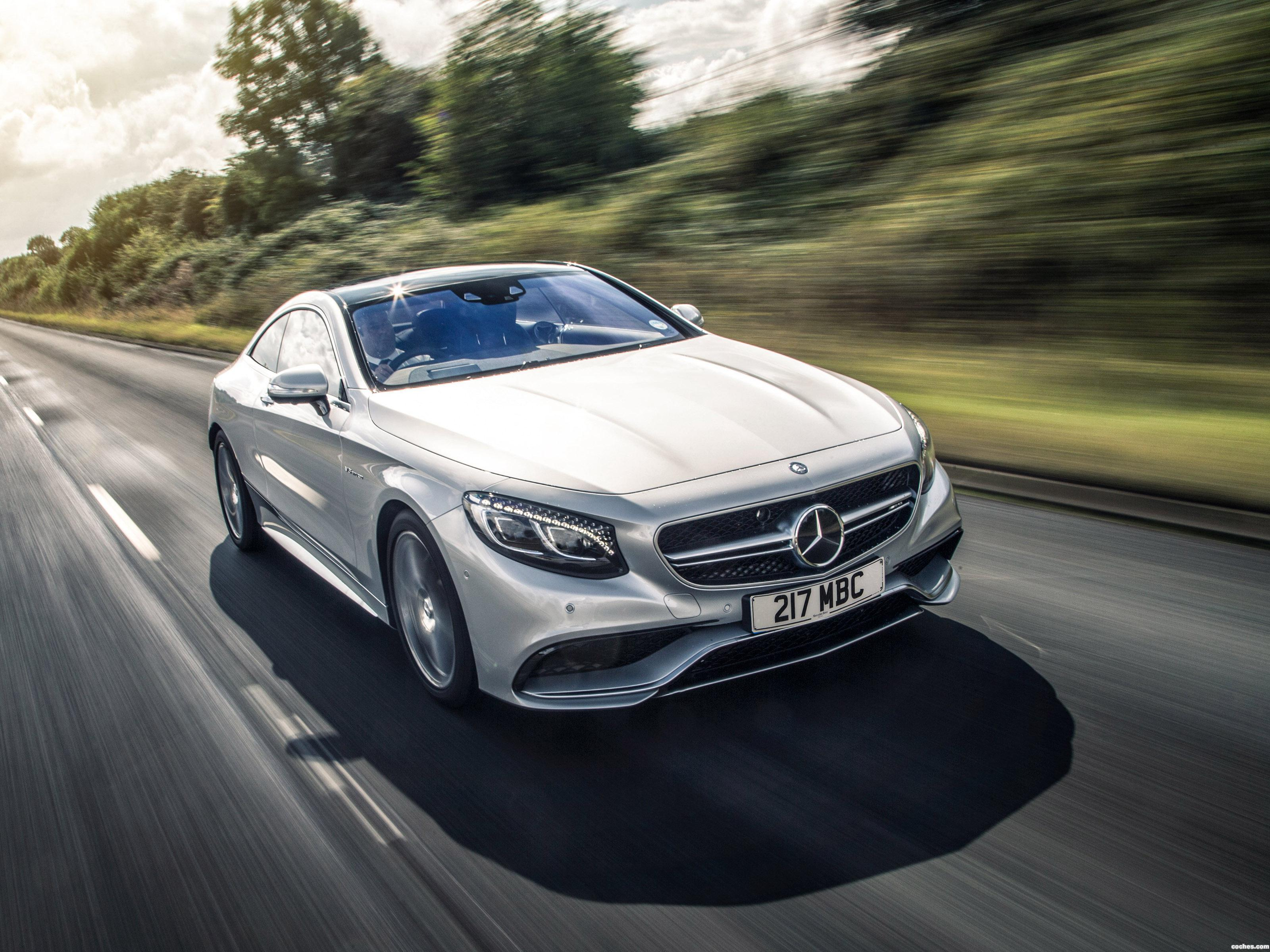 Foto 0 de Mercedes Clase S63 Coupe C217 UK 2014
