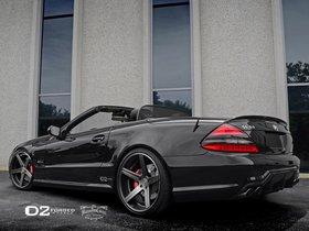 Ver foto 3 de Mercedes Clase SL SL63 D2Forged CV2 2013
