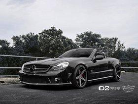 Ver foto 1 de Mercedes Clase SL SL63 D2Forged CV2 2013