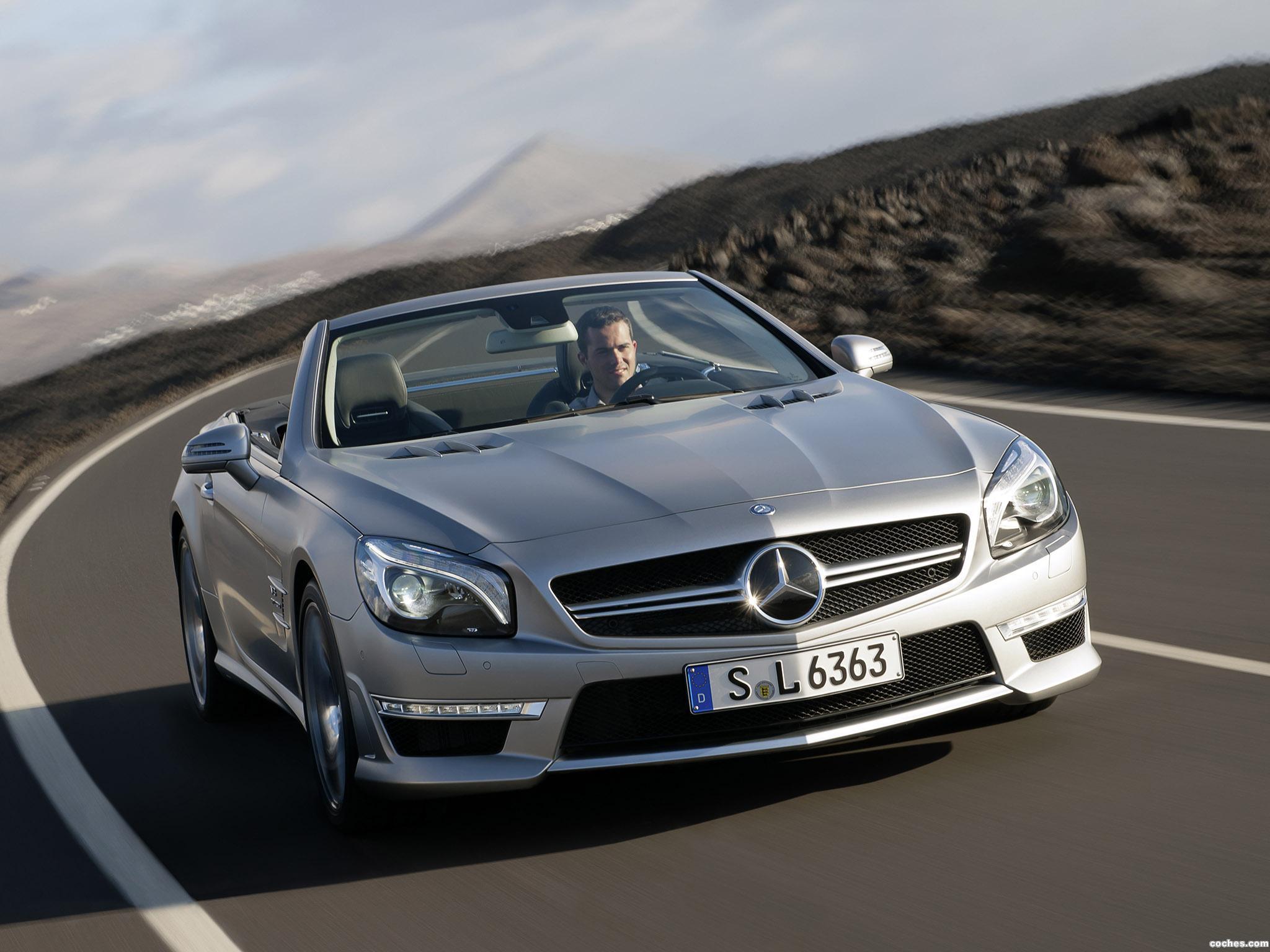 Foto 3 de Mercedes SL 63 AMG R231 2012