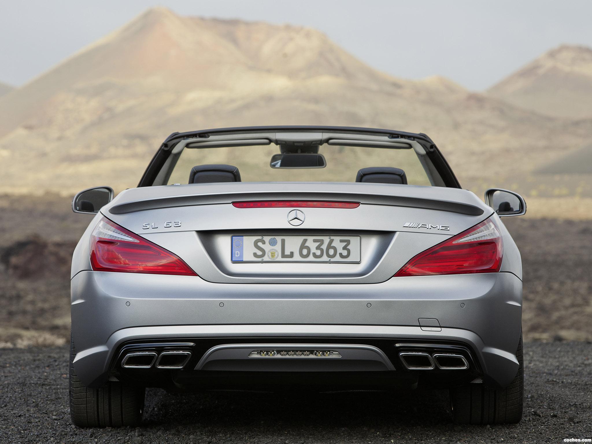 Foto 14 de Mercedes SL 63 AMG R231 2012