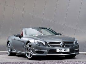 Ver foto 4 de Mercedes Clase SL SL63 AMG R231 UK 2012
