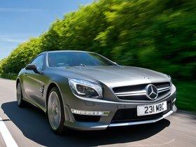 Fotos de Mercedes Clase SL SL63 AMG R231 UK 2012
