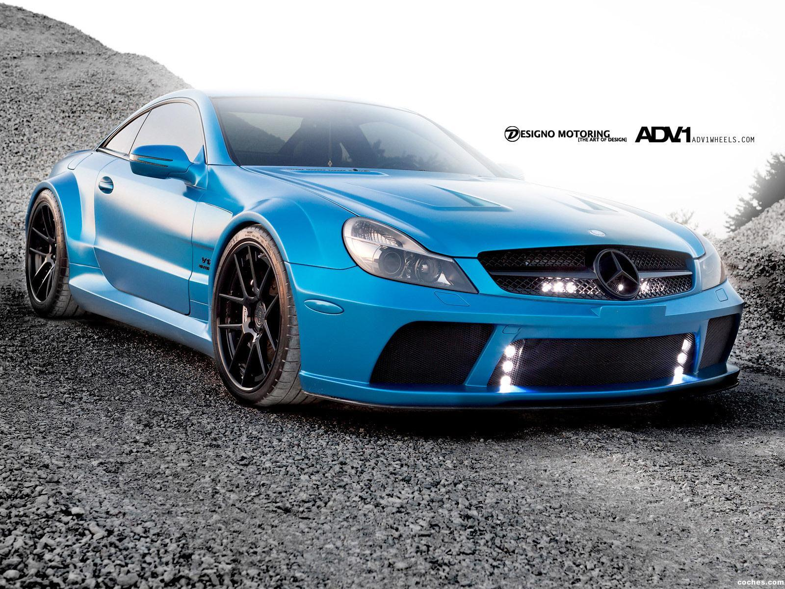 Foto 0 de Mercedes SL 65 AMG Black Series ADV.1 Wheels 2012