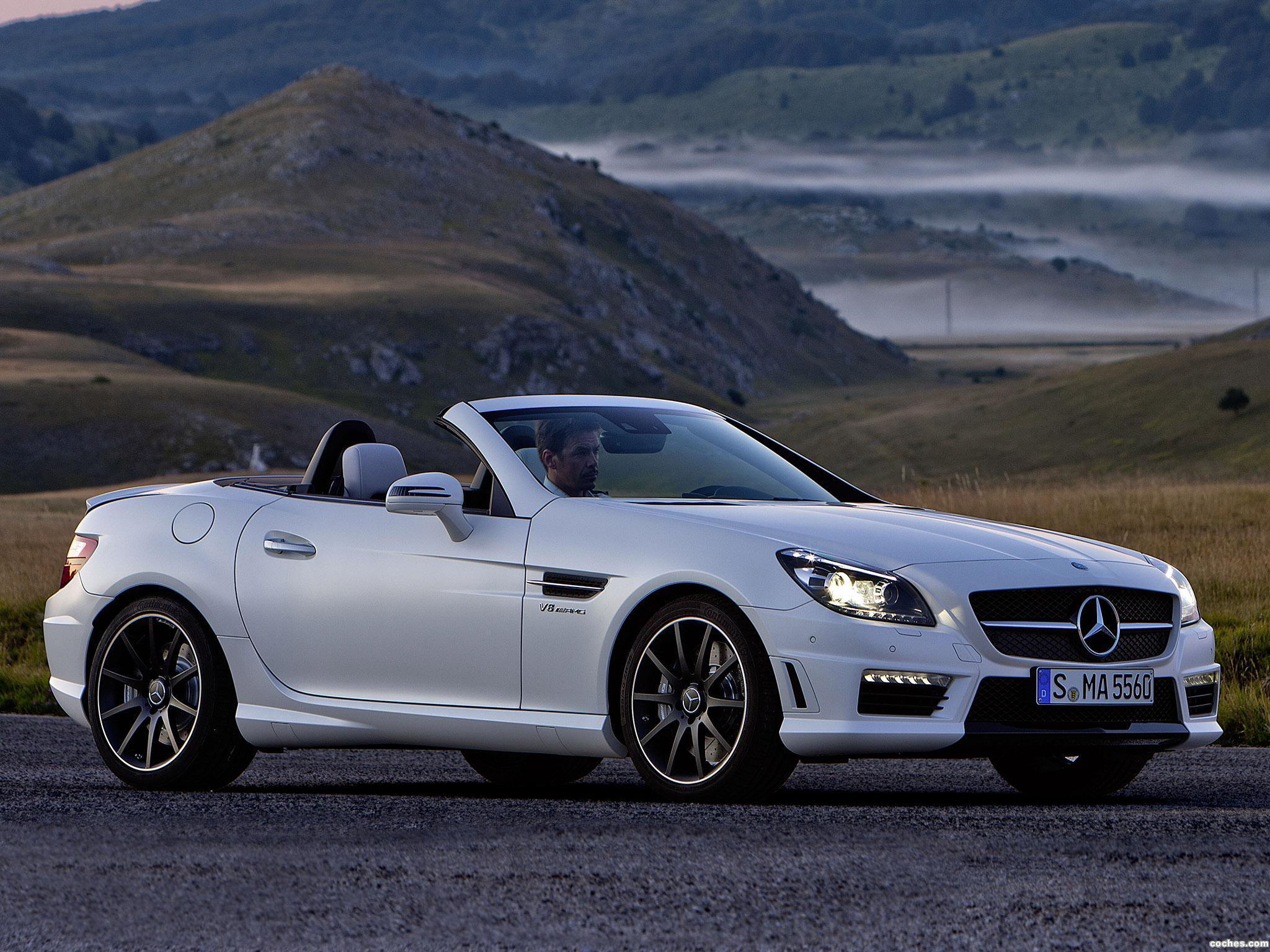 Foto 0 de Mercedes SLK 55 AMG 2011