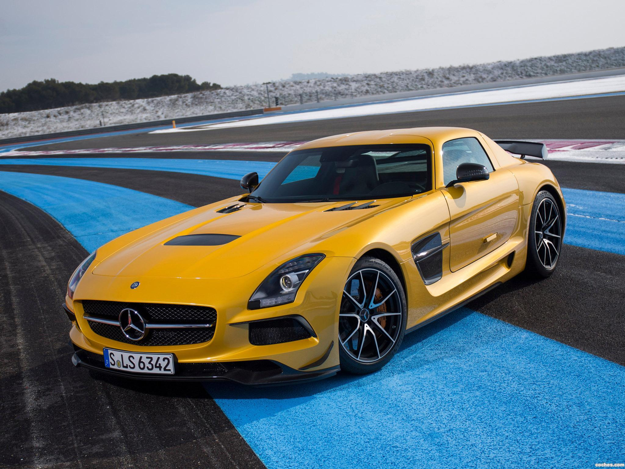Foto 0 de Mercedes SLS AMG 63 Black Series 2013
