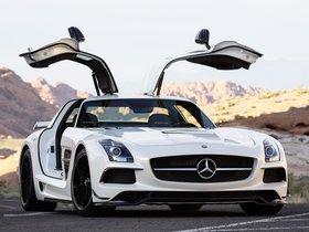 Ver foto 2 de Mercedes SLS AMG Mercedes 63 Black Series 2013