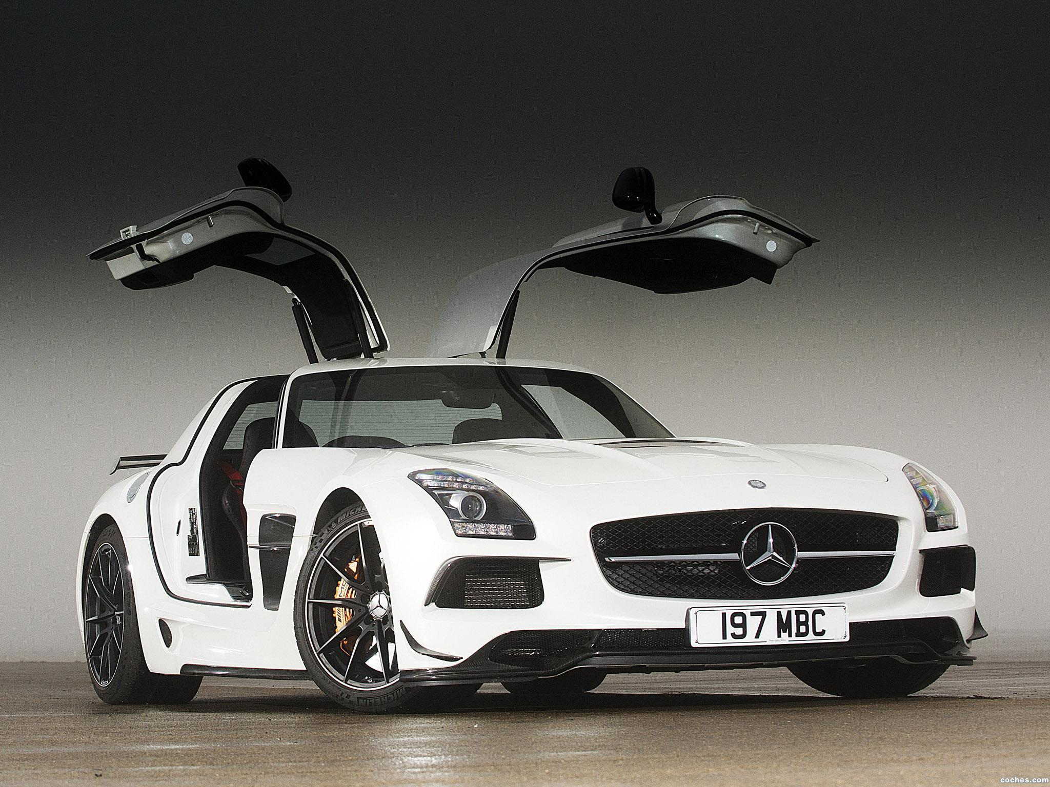 Foto 0 de Mercedes SLS AMG 63 Black Series C197 UK 2013