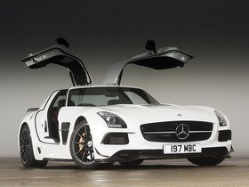 Fotos de Mercedes SLS AMG 63 Black Series C197 UK 2013