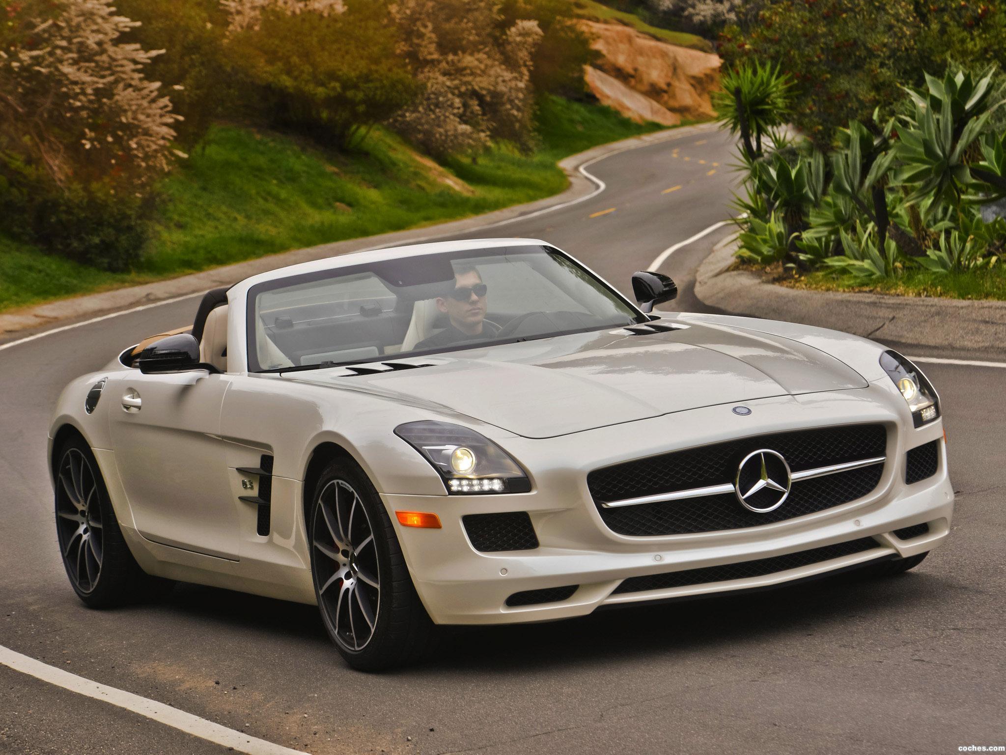 Foto 0 de Mercedes SLS AMG63 GT Roadster USA 2012