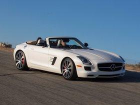 Ver foto 10 de Mercedes SLS AMG63 GT Roadster USA 2012