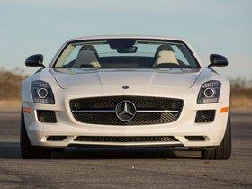 Ver foto 7 de Mercedes SLS AMG63 GT Roadster USA 2012