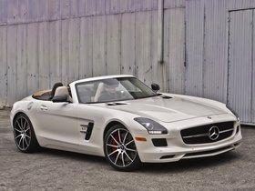 Ver foto 4 de Mercedes SLS AMG63 GT Roadster USA 2012