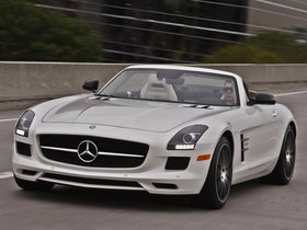 Ver foto 24 de Mercedes SLS AMG63 GT Roadster USA 2012
