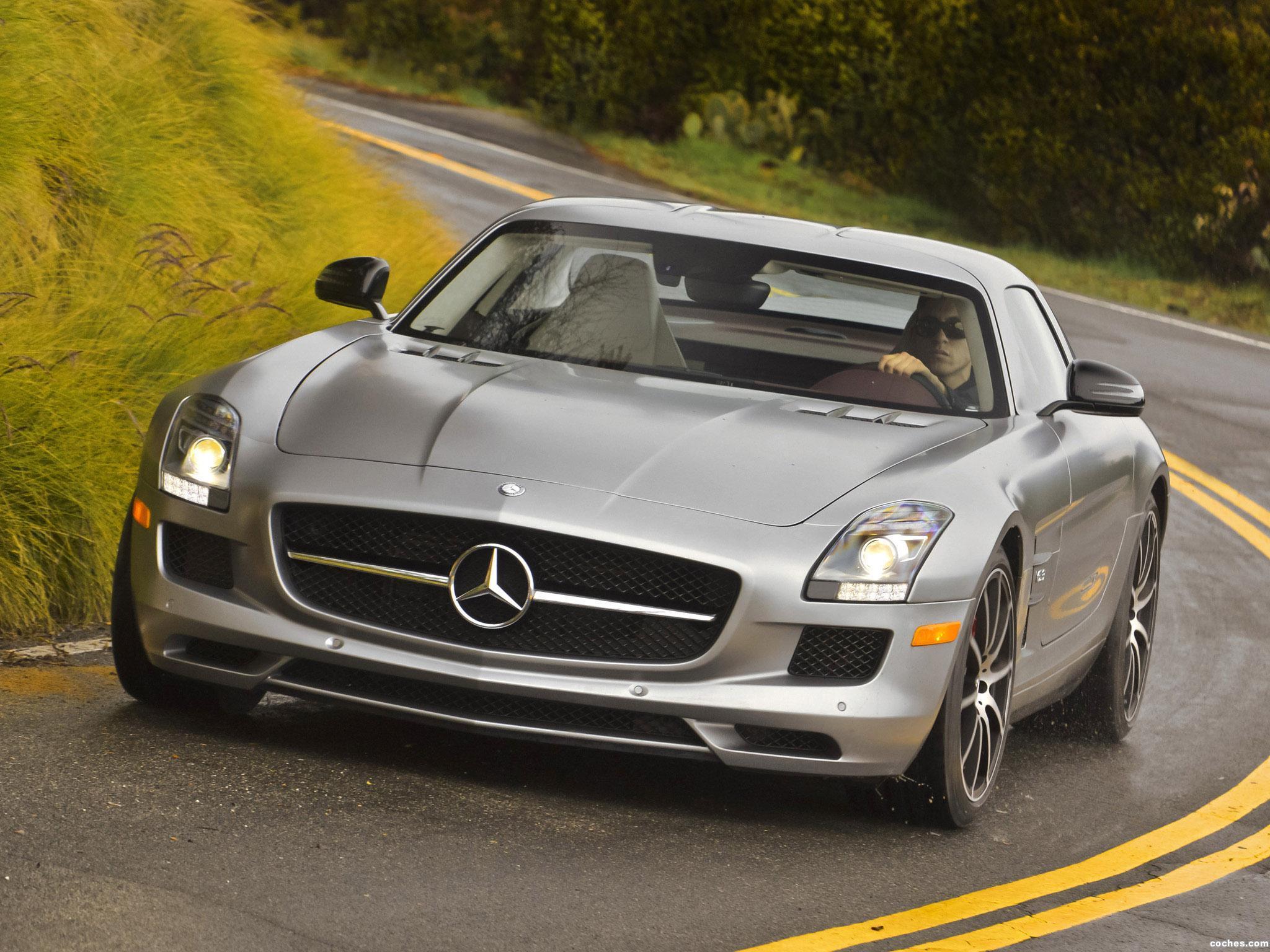 Foto 0 de Mercedes SLS AMG63 GT USA 2012