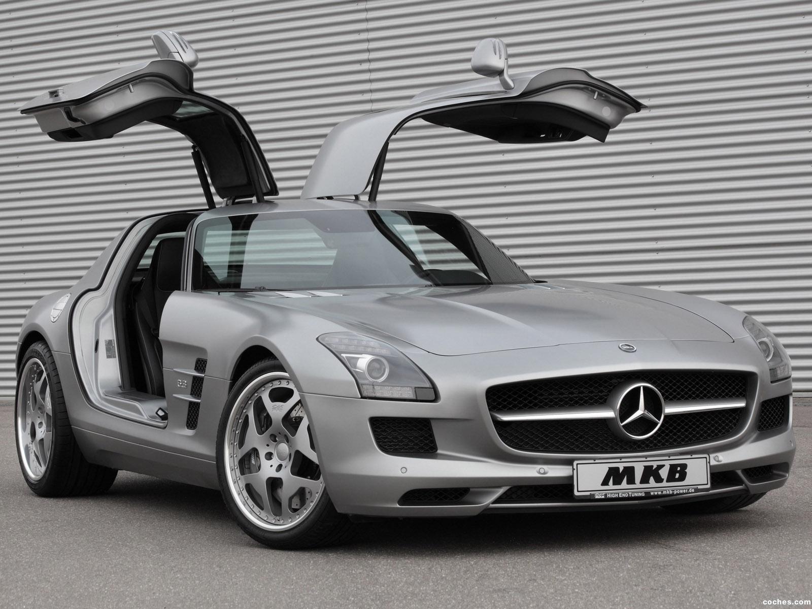 Foto 0 de Mercedes SLS AMG 63 MKB P 640 2011