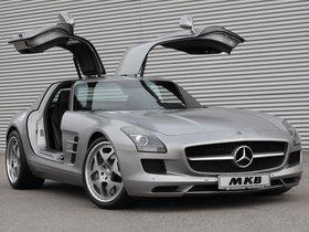 Ver foto 1 de Mercedes SLS AMG 63 MKB P 640 2011