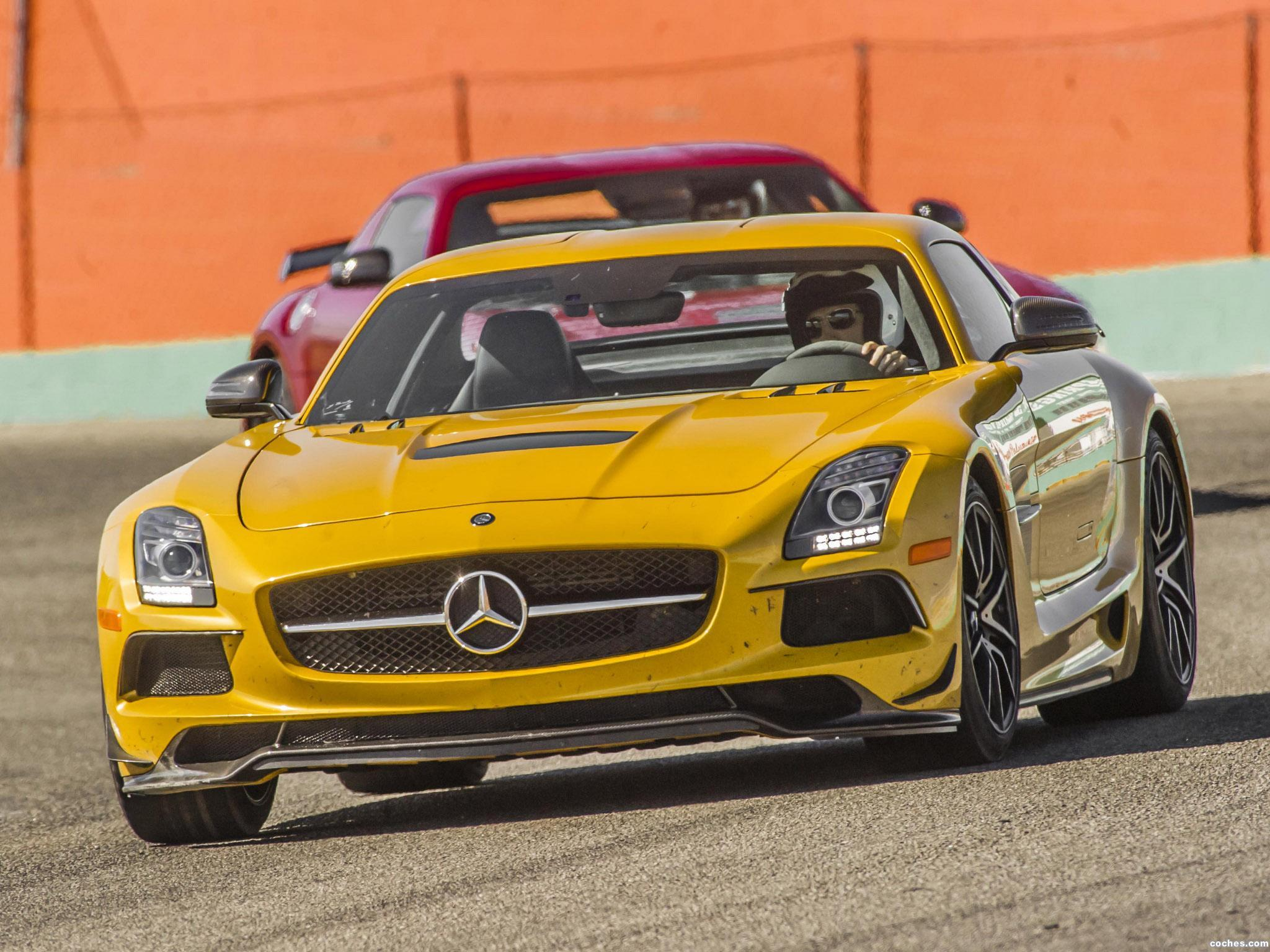 Foto 5 de Mercedes SLS AMG63 Black Series C197 USA 2013