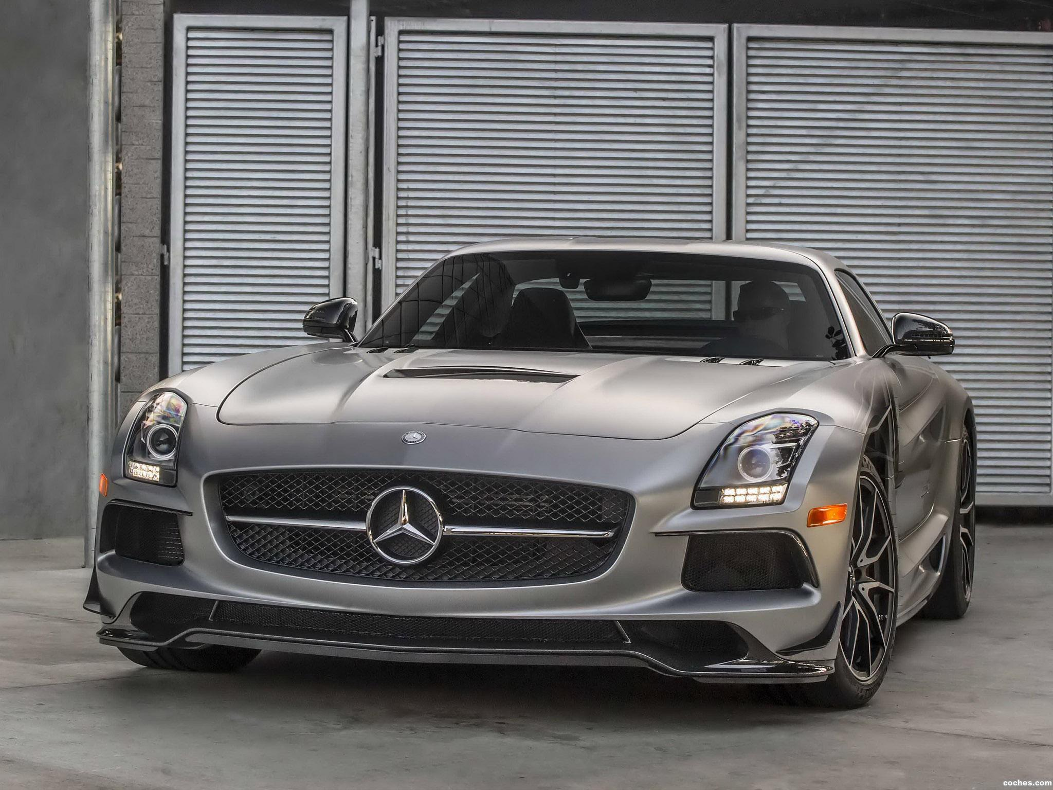 Foto 1 de Mercedes SLS AMG63 Black Series C197 USA 2013