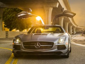 Fotos de Mercedes SLS AMG63 Black Series C197 USA 2013