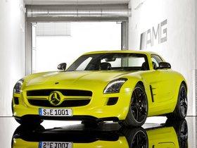 Ver foto 1 de Mercedes SLS AMG E-CELL 2010