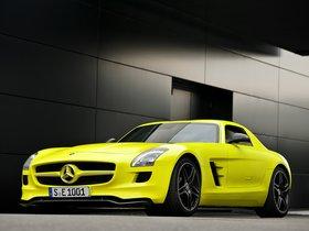 Ver foto 8 de Mercedes SLS AMG E-CELL 2010