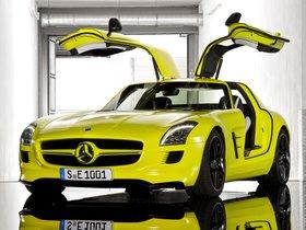 Ver foto 2 de Mercedes SLS AMG E-CELL 2010