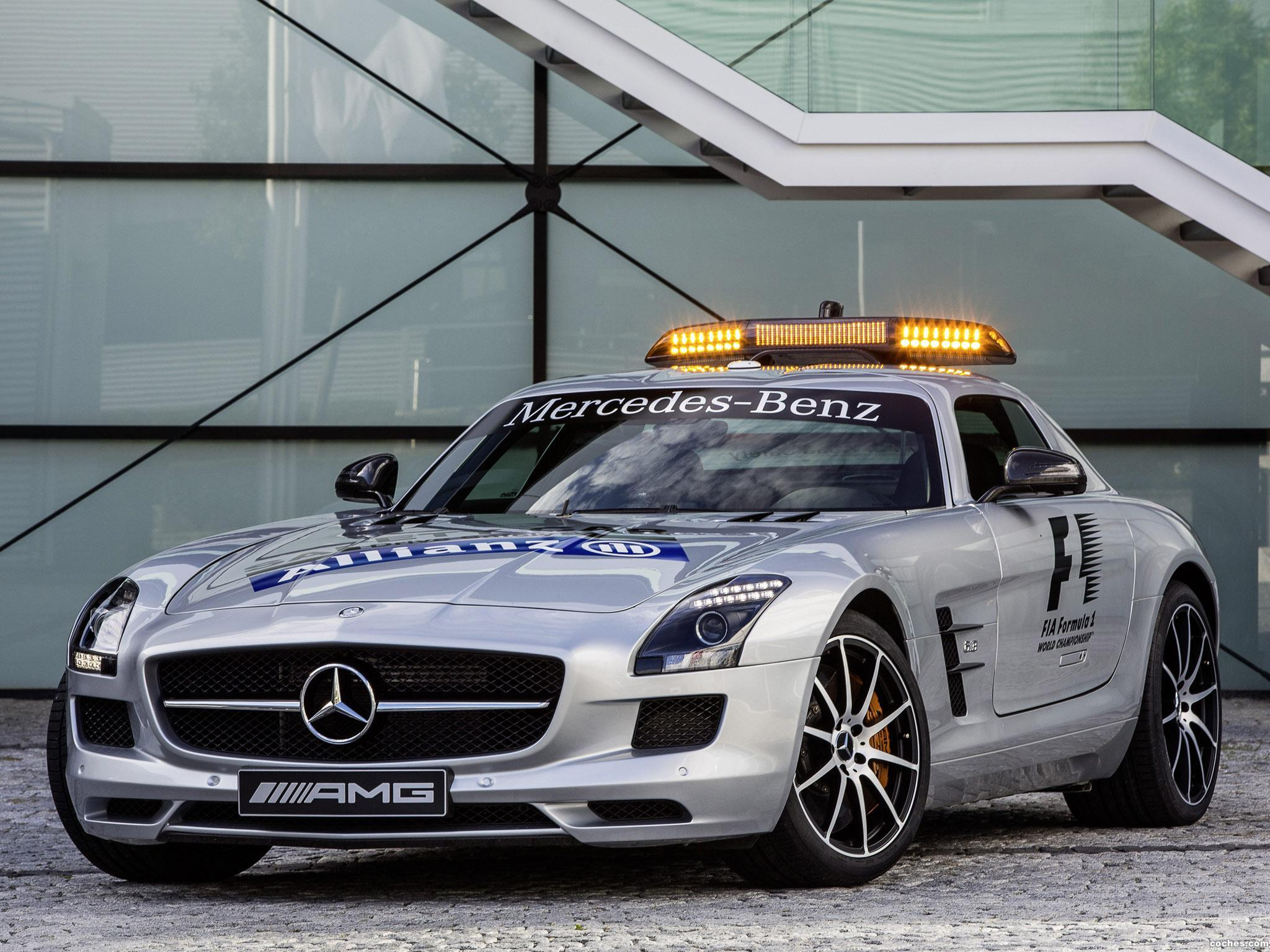 Foto 0 de Mercedes SLS AMG GT Official F1 Safety Car 2012