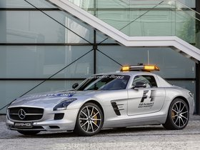 Ver foto 3 de Mercedes SLS AMG GT Official F1 Safety Car 2012