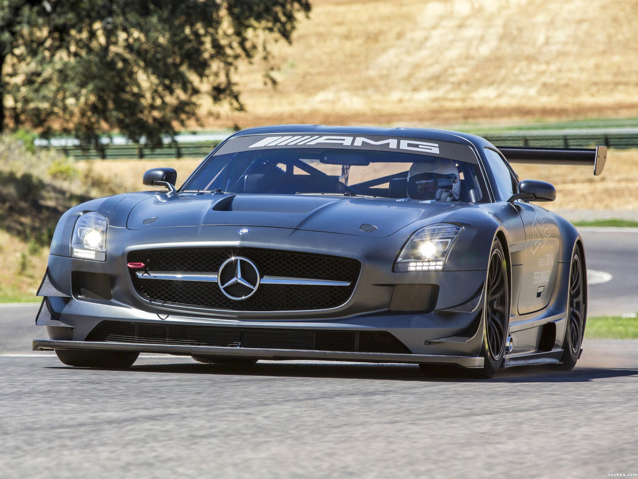 Foto 0 de Mercedes SLS AMG GT3 45th Anniversary C197 2012