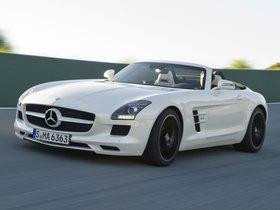 Ver foto 23 de Mercedes SLS AMG Roadster 2011